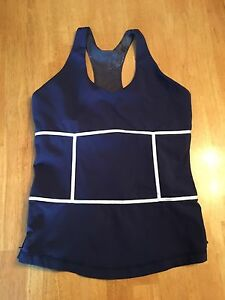 Lululemon  tank navy blue