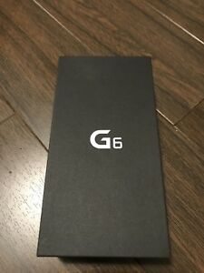 LG G6 - NEW-SEALED BOX-UNLOCKED