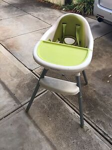 High chair with detachable bench and seat Clovelly Park Marion Area Preview