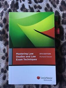 Law textbook Kirrawee Sutherland Area Preview