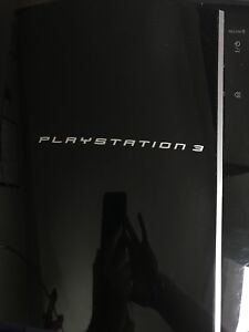 Playstation 3 with travel bag, six games and more