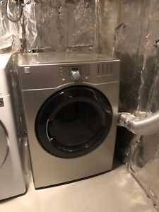 LG washer and Kenmore dryer