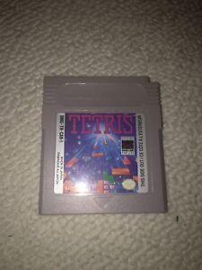 Game boy Tetris Game cartridge