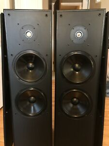 "NUANCE Spatial 3S Giant Tower Speakers  8"" woofers 50 lbs each​"