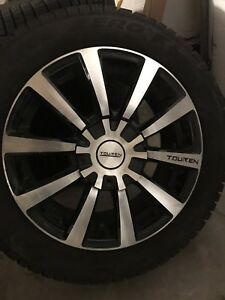 4 Pirelli Snows on Touren TR3 Alloy Rims ALMOST NEW