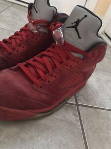9384f149889 Jordan 5 Red Suede | Kijiji in Ontario. - Buy, Sell & Save with ...