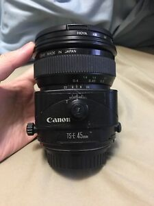 Canon 45mm 2.8 TS-E Tilt Shift Lens
