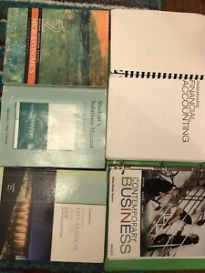 University of Toronto Rotman Commerce First Year Books on Sale