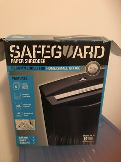 SAFEGUARD PAPER SHREDDER