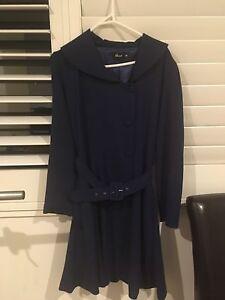 Revival blue Coat size 10 Auchenflower Brisbane North West Preview