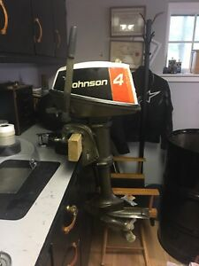 1976 Johnson 4 HP Outboard Motor