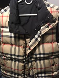 Reversible Burberry Vest