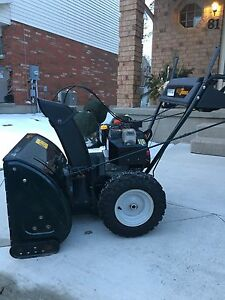 "27"" Yardworks snowblower"