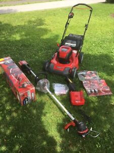 Snapper 60V lawn mower and weed whacker *BRAND NEW*