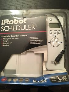 Roomba Scheduler and virtual wall systems