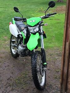 Dual purpose 2011 klx 250s