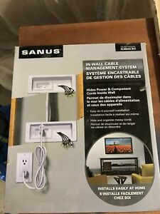 Sanus - In-Wall Cable Management System