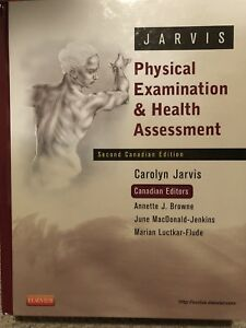 Physical examination and health assessment textbook
