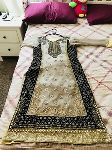 Beautiful Pakistani embroidered suit for wedding or bridal wear