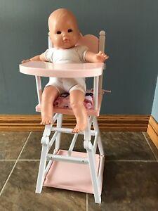 Chaise haute Corolle pour poupée