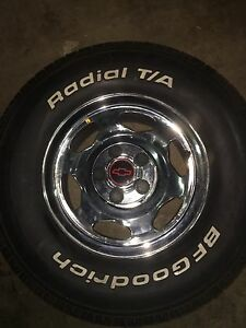 Chevy 454 ss rims and bf Goodrich tires