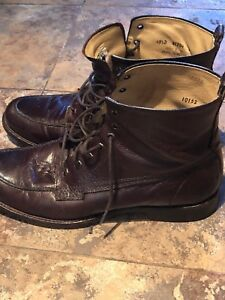 Frye Philip Lace Up - brown, 10.5