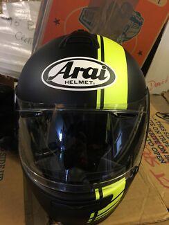 Arai Vector 2 Base fluro yellow helmet - M Mona Vale Pittwater Area Preview