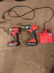 M18 drill and m18 impact for sale