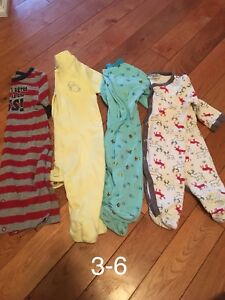 3-6 and 6 month boy clothes