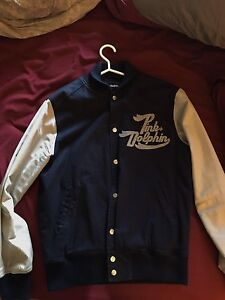 Pink Dolphin Jacket Large Navy blue