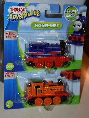 THOMAS & FRIENDS ADVENTURES NIA & HONG-MEI METAL ENGINE NEW