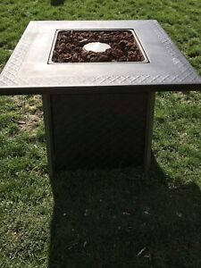 Outdoor Propane Firepit