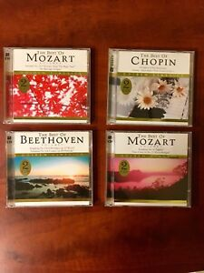 Mozart, Beethoven, Chopin Best of CD's