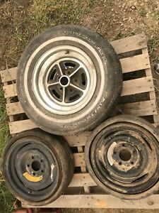 Vintage space saver wheels