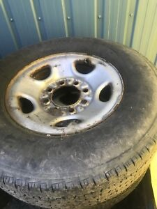 8 bolt chev rims and tires