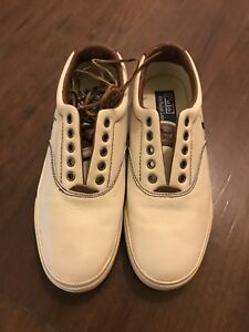 Leather polo shoes 8.5