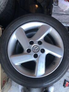 OEM MAZDA RIMS WONTER TIRES 3