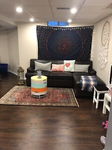 Beautiful and big 2 bedroom furnished basement Newmarket