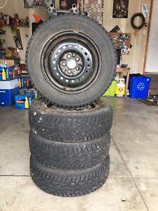 Hercules winter tires on 5x100mm rims