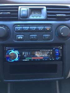 Dual Single Din Radio with Aux and USB 2 Weeks Old