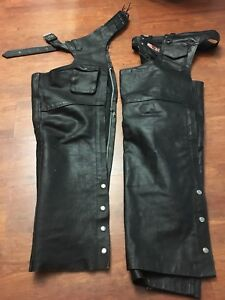 Ladies Leather Chaps Two pair.