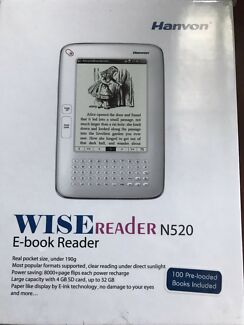 Brand new E - ink panel book reader