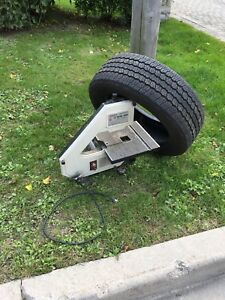 Curb Alert - band saw and tire