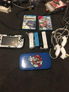 Wii u black 32gb $ 200