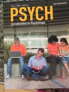 PSYCH Introduction to Psychology 3rd Edition