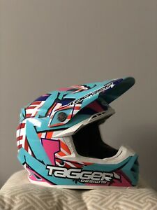 Bell MOTO-9 Tagger Designs trouble Motocross helmet