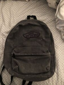 Grey Vans Back pack