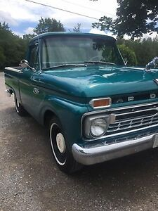 1965 FORD F-100 SHORT BOX
