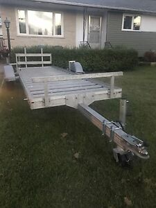2009 Newman sled bed (or atv) trailer or trade