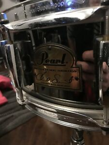 Chad Smith Signature Pearl Snare and Stand